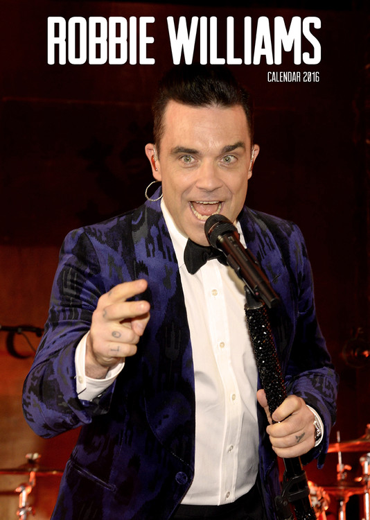 Robbie Williams Calendrier 2017