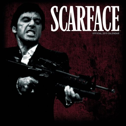 Scarface Calendrier 2017