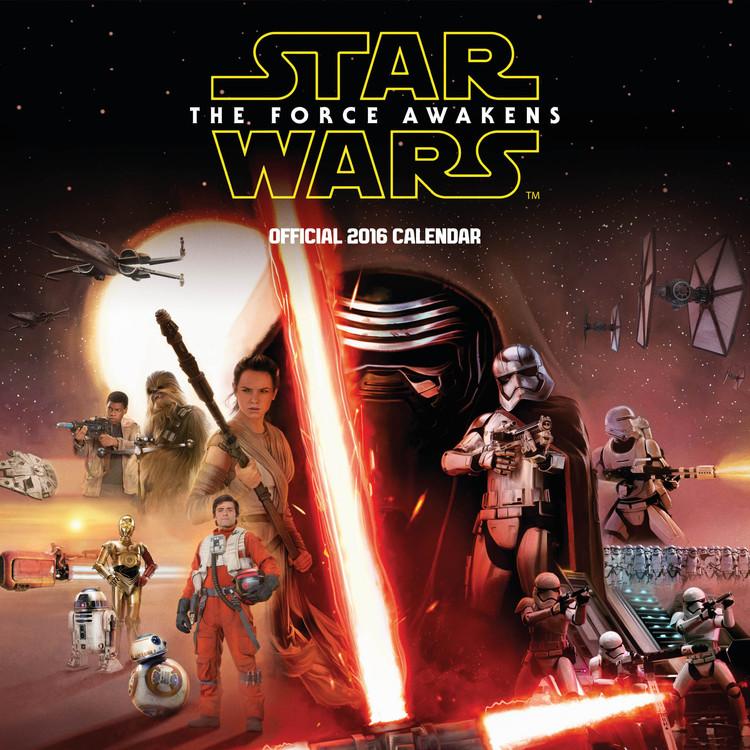 Star Wars, épisode VII : Le Réveil de la Force Calendrier 2017