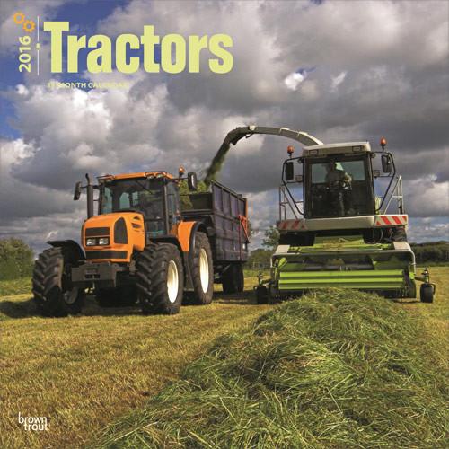 Tracteurs Calendrier 2017