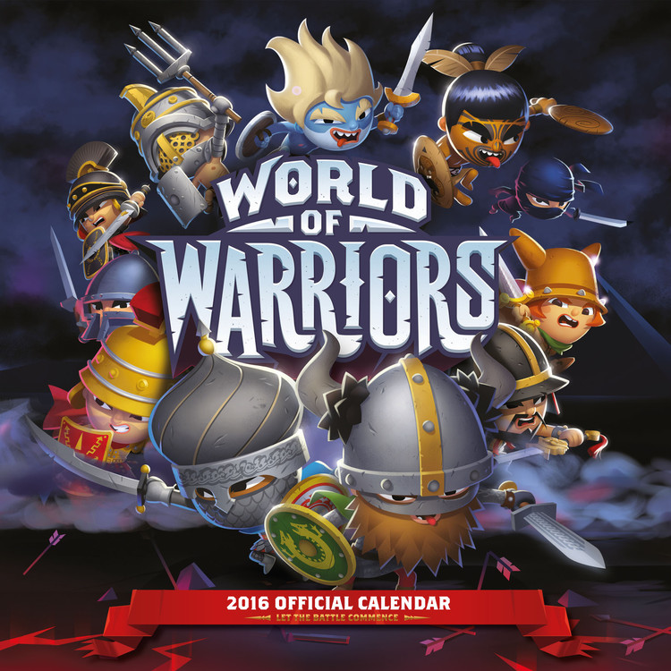 World of Warriors Calendrier 2017