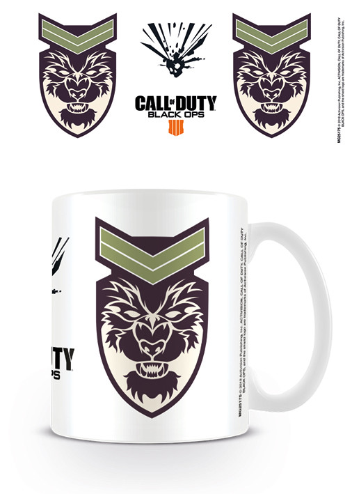 Cup Call Of Duty - Black Ops 4 Bbattery Symbol