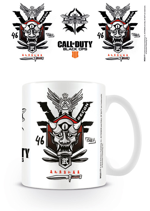 Cup Call Of Duty - Black Ops 4 Recon Symbol
