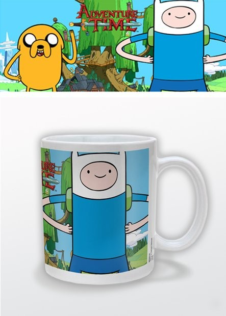 Caneca Adventure Time with Finn and Jake