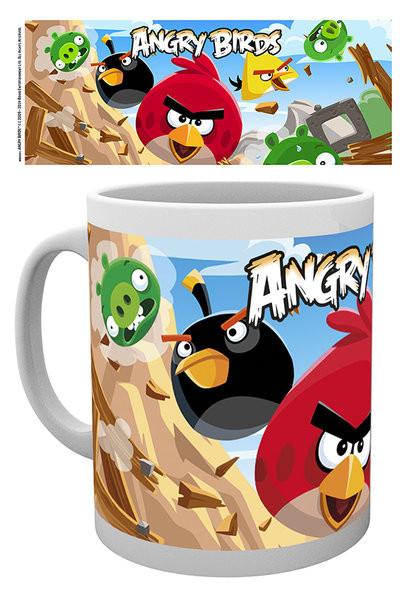 Caneca Angry Birds - Destroy