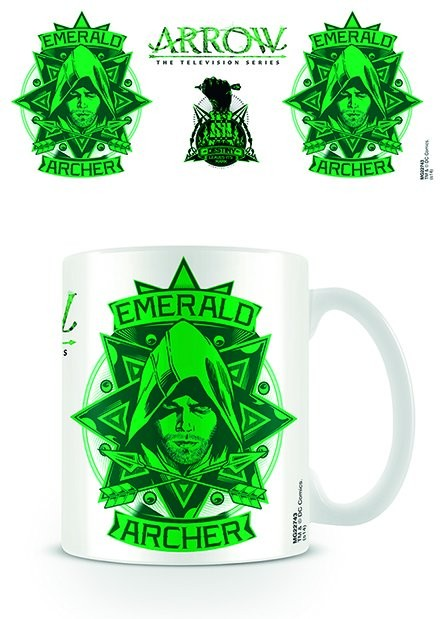 Caneca Arrow - Emerald Archer