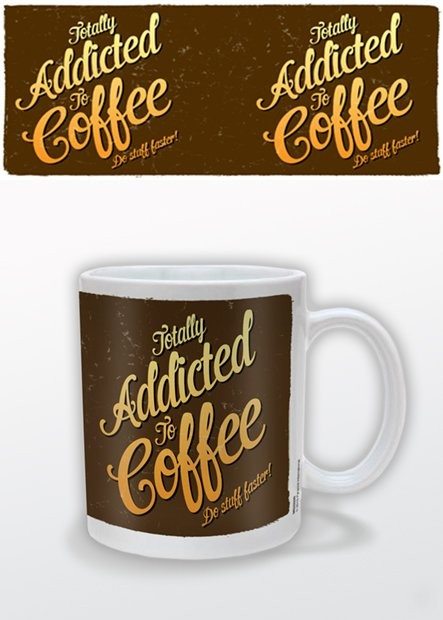 Caneca Coffee Addict