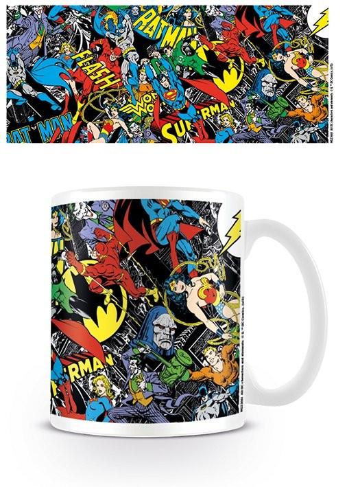 Caneca DC Originals - Montage logo