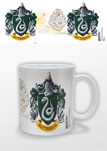 Caneca Harry Potter - Slytherin Crest