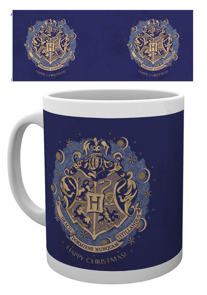 Caneca Harry Potter - Xmas Hogwarts