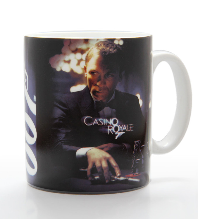 Caneca James Bond - casino royale