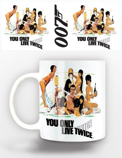 Caneca James Bond - you only live twice