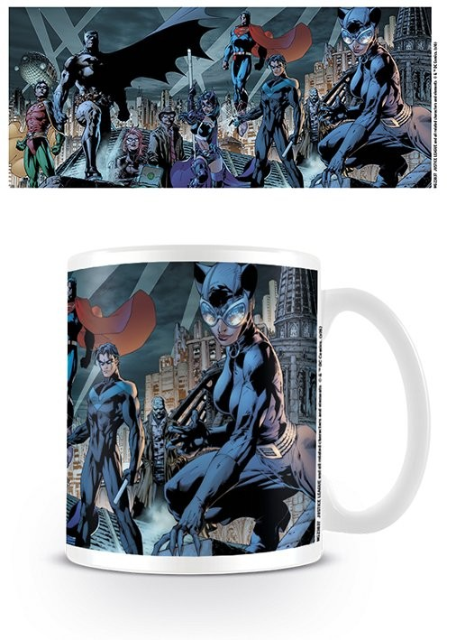Caneca Justice League - Batman Family