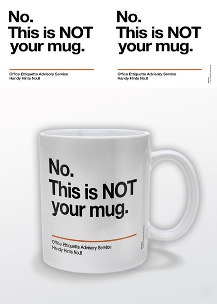 Caneca Not Your Mug