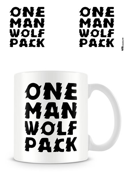 Caneca One Man Wolf Pack
