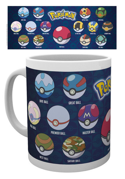 Caneca Pokémon - Ball Varieties