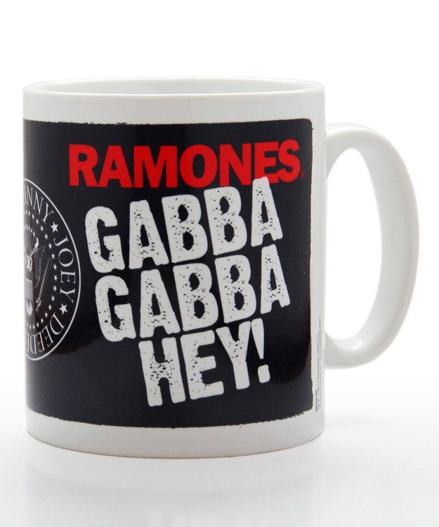 Caneca Ramones - gabba gabba hey