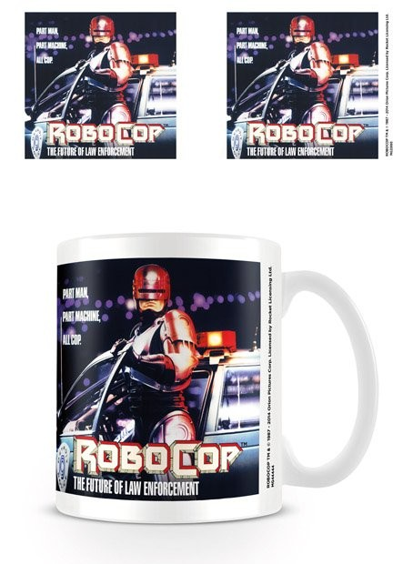 Caneca Robocop - 1987 One Sheet