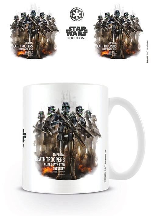 Caneca Rogue One: Star Wars Story - Death Trooper Profile