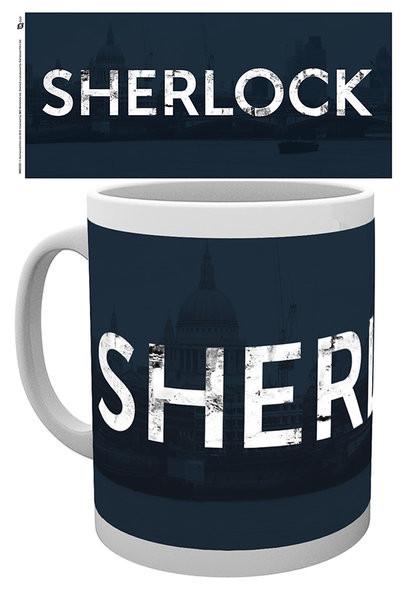 Caneca Sherlock - Logo