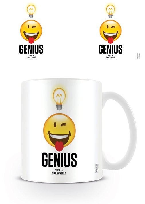 Caneca Smiley - Genius