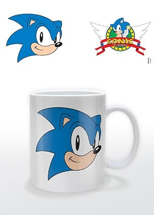 Caneca Sonic The Hedgehog - Logo