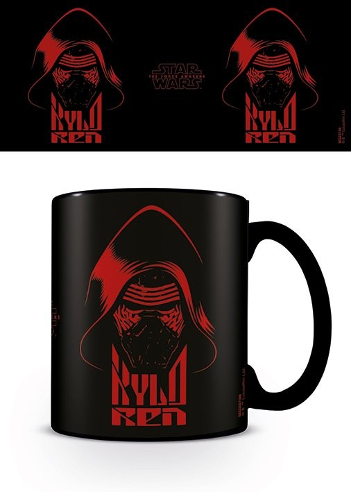 Caneca Star Wars Ep7 - Kylo Ren Black