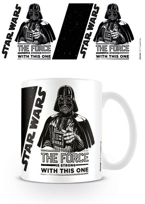 Caneca Star Wars - The Force is Strong