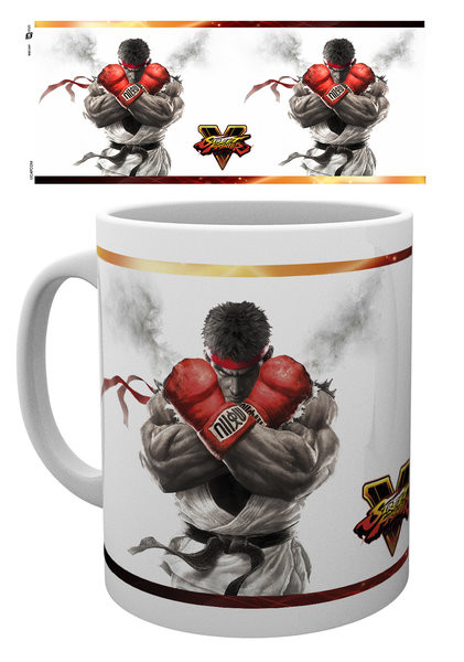 Caneca Street Fighter 5 - Key Art