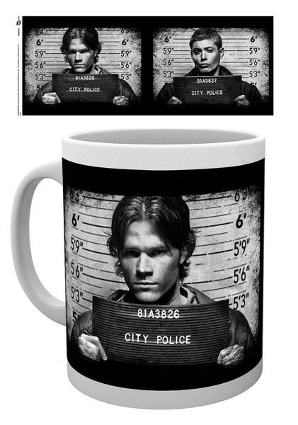 Caneca Supernatural - Mug Shots