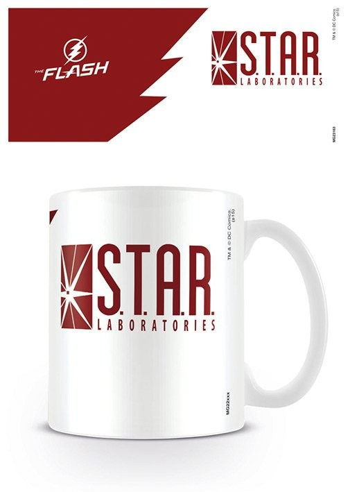 Caneca The Flash - STAR Labs