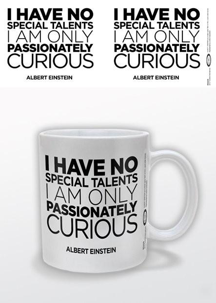 Caneca Albert Einstein - Only Curious