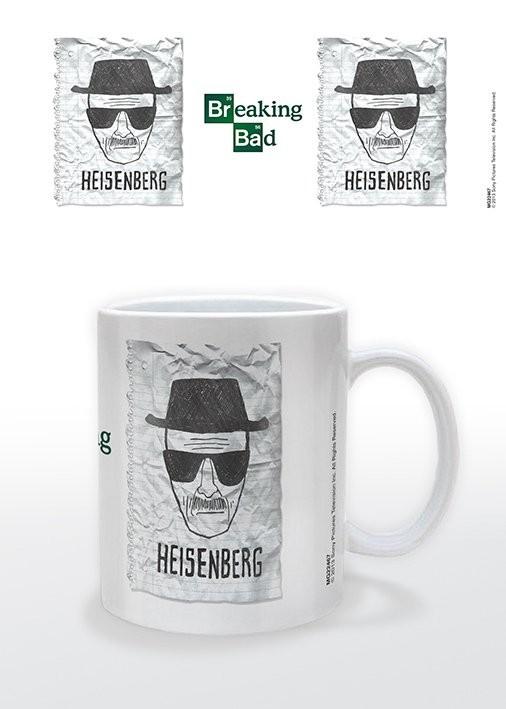 Caneca Breaking Bad - Heisenberg Wanted
