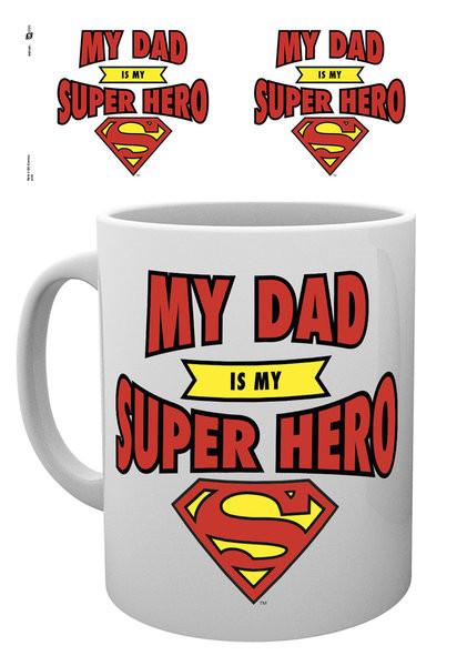 Caneca DC Comics - Superman Dad Superhero