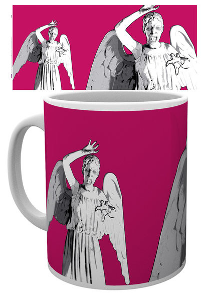 Caneca  Doctor Who - Angel Pop
