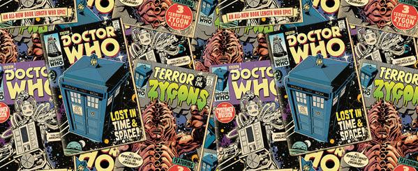 Caneca  Doctor Who - Comic Books