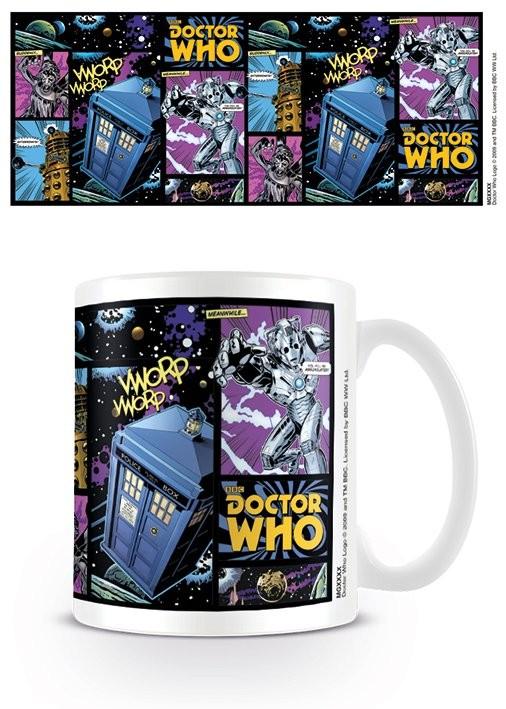 Caneca Doctor Who - Comic Strip