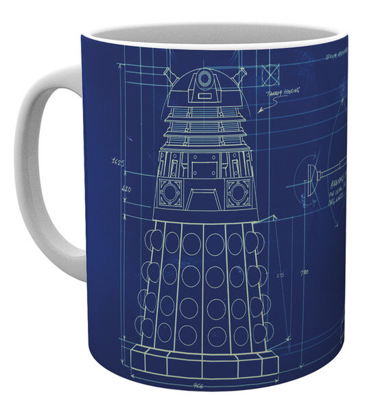 Caneca  Doctor Who - Tardis Sign