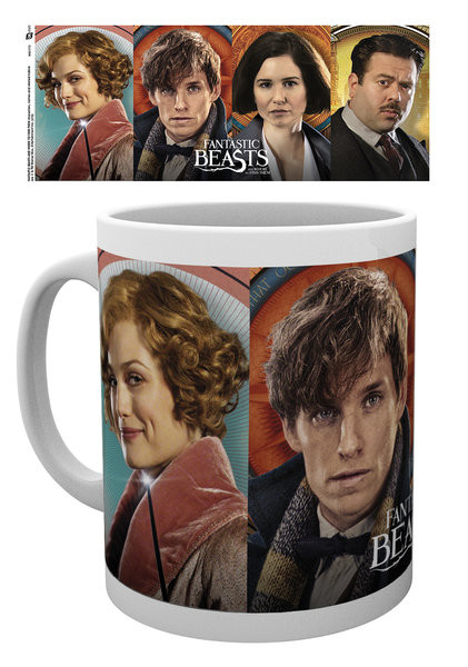Caneca Fantastic Beasts And Where To Find Them - Characters