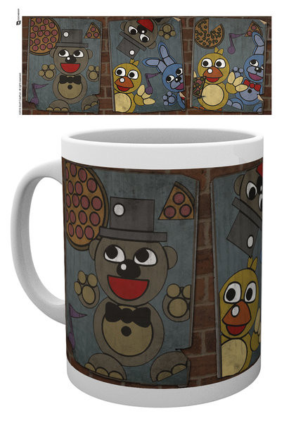 Caneca Five Nights At Freddy's - Vintage Posters