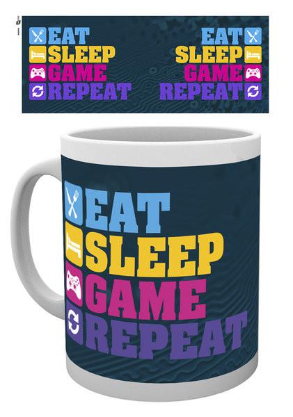 Caneca Gaming - Eat Sleep
