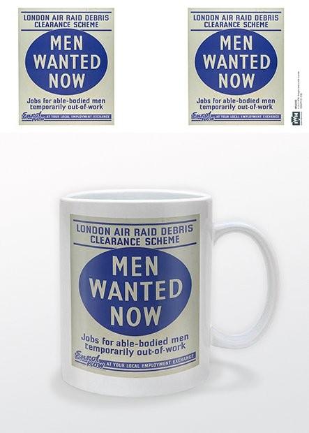 Caneca IWM - Men Wanted Now