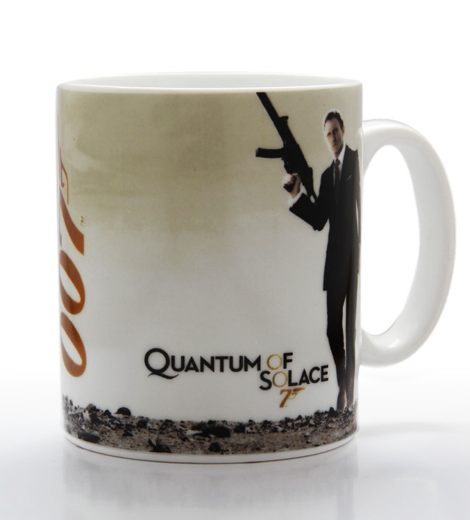 Caneca James Bond - quantum of solace