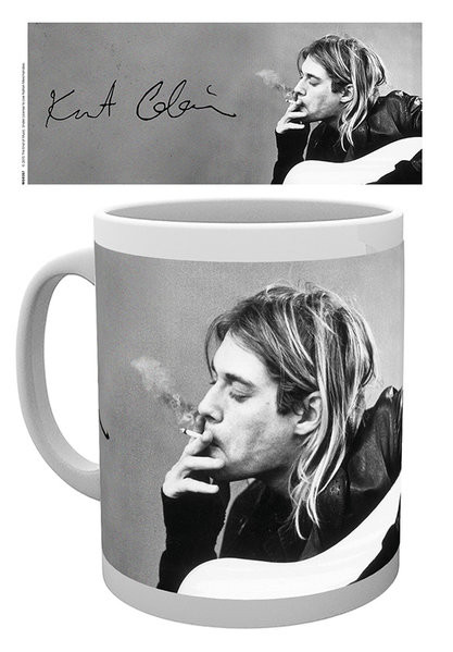 Caneca  Kurt Cobain - Smoking