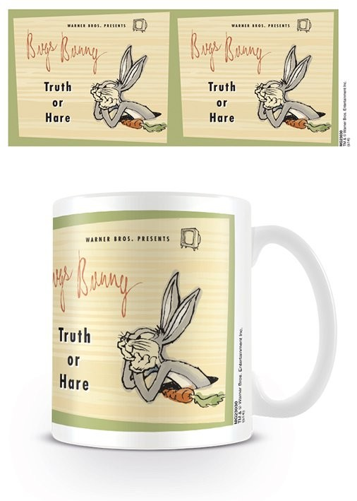 Caneca Looney Tunes - Bugs Bunny - Truth or Hare