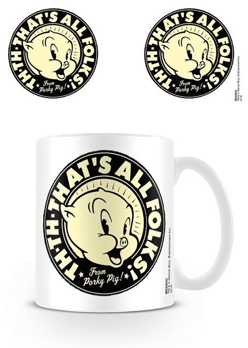 Caneca Looney Tunes - That's all Folks!