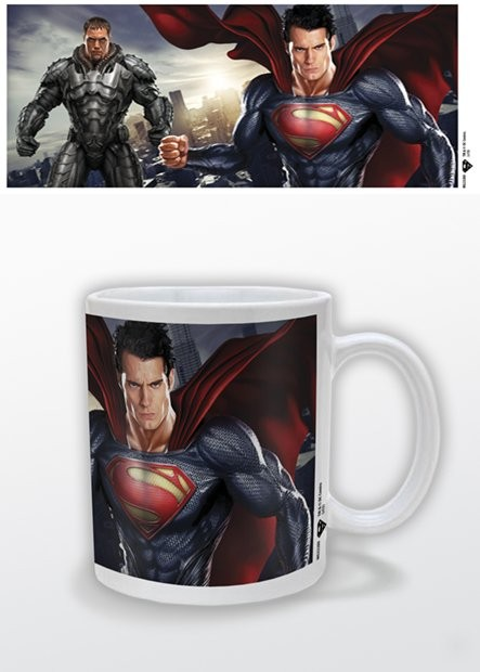 Caneca Man of Steel - Cityscape