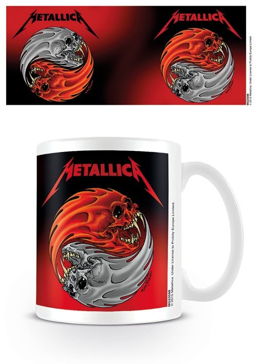 Caneca Metallica - Yin & Yang