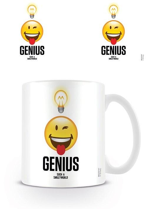 Caneca Smiley - Genius