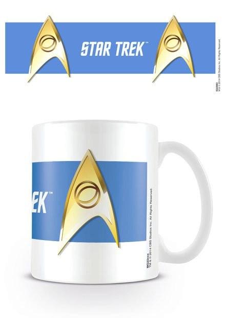 Caneca Star Trek - Sciences Blue